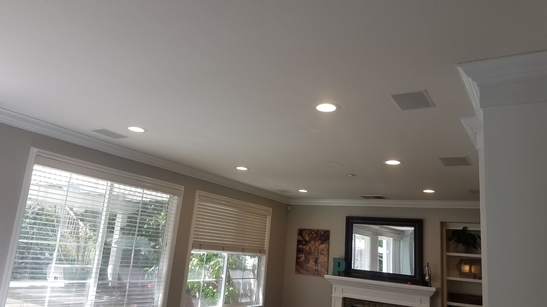 Remodel Versus New Construction Recessed Lighting Orange